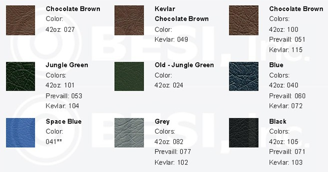 IC AmTran Seat Swatches